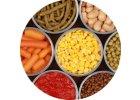 Sterilizovaná zelenina a strukoviny