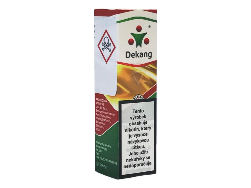 Liquid Dekang SILVER Kn´t - cantebury blend 10ml - 6mg