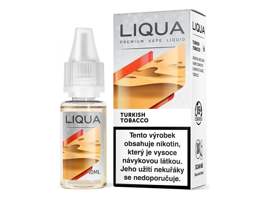 Liquid LIQUA CZ Elements Turkish Tobacco 10ml-18mg (Turecký tabák)