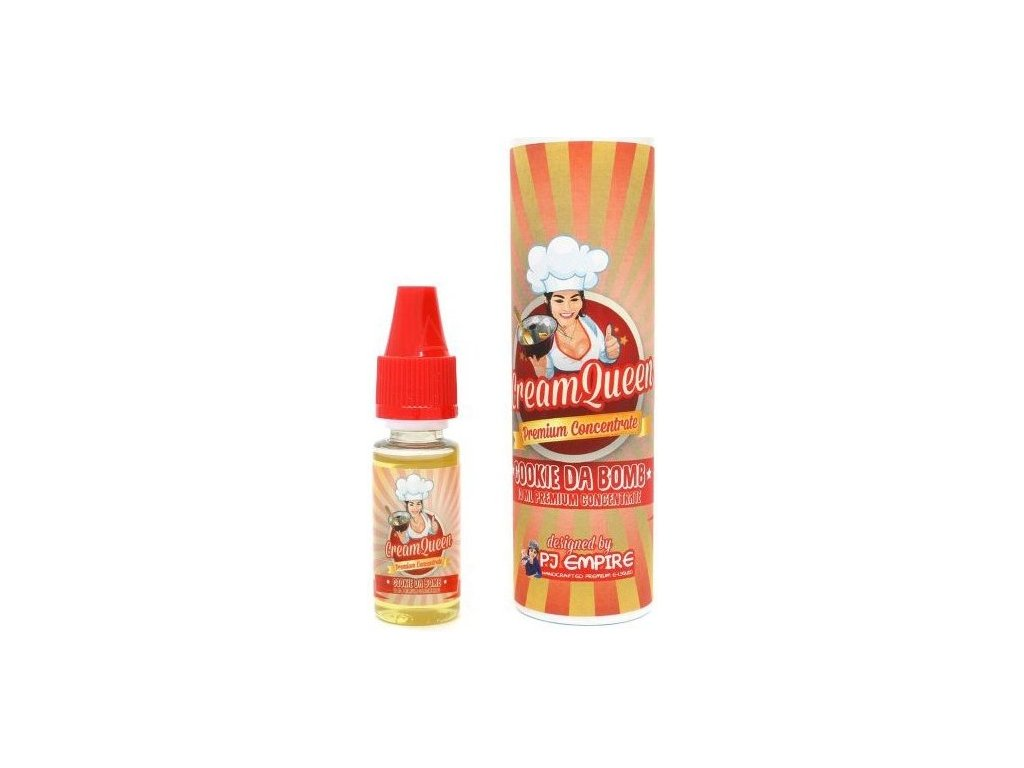 Příchuť PJ Empire 10ml Cream Queen Cookie Da Bomb (Sladká a krémová sušenka)