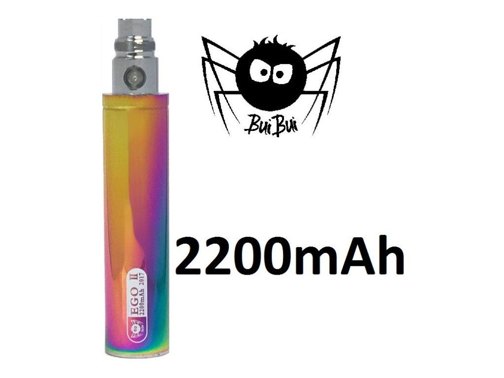 BuiBui GS eGo II baterie 2200mAh Rainbow