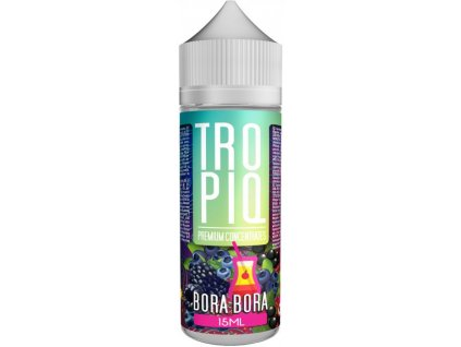 Příchuť TROPIQ Shake and Vape 15ml Bora Bora