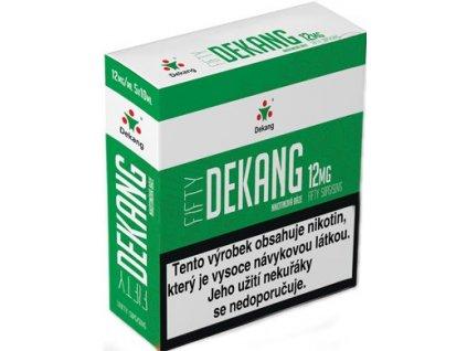 Nikotinová báze Dekang Fifty 5x10ml PG50-VG50 12mg