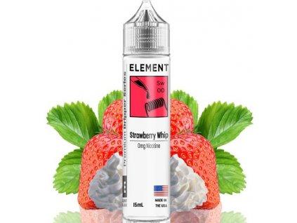 prichut element shake and vape 15ml strawberry whip