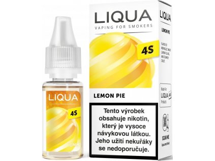 liquid liqua cz 4s lemon pie 10ml 20mg