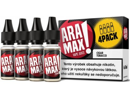 Liquid ARAMAX 4Pack Cigar Tobacco 4x10ml-12mg