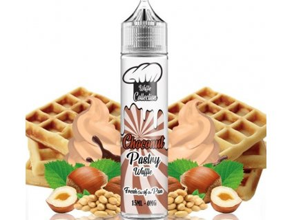 Príchuť Waffle Collection Shake and Vape 15ml Choconut Pastry