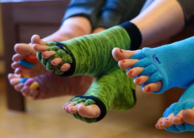 Adjustační ponožky - úleva pro Vaše nohy