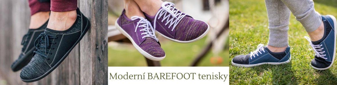 Barefoot tenisky