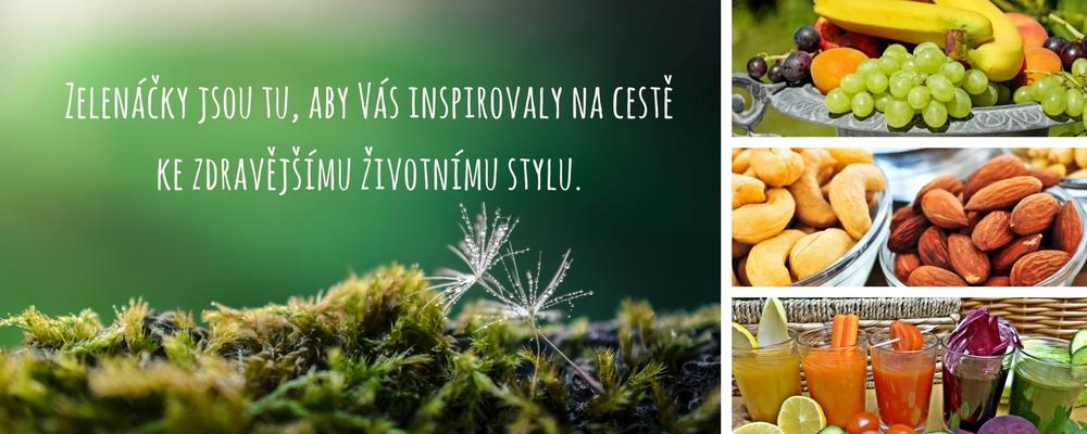 Zelenáčky jsou tu, aby vás inspirovaly na cestě ke zdravějšímu životnímu stylu.