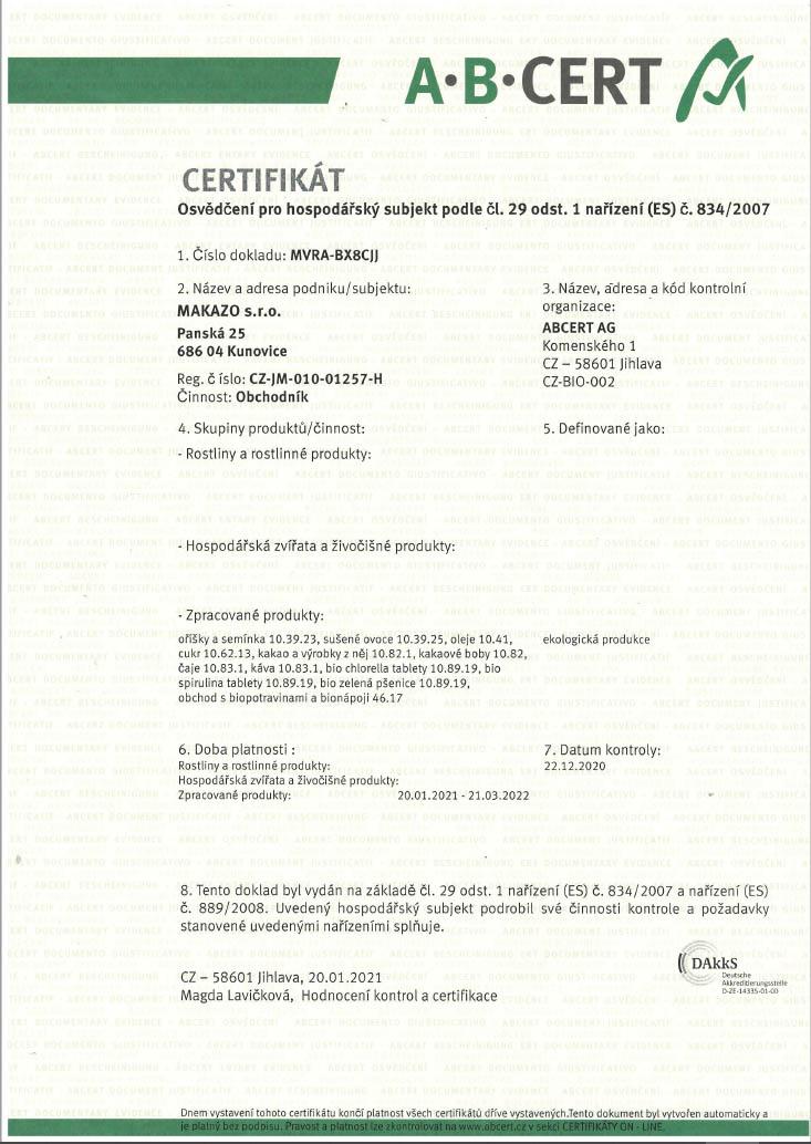 MAKAZO-Certifikát-ABCERT_2021