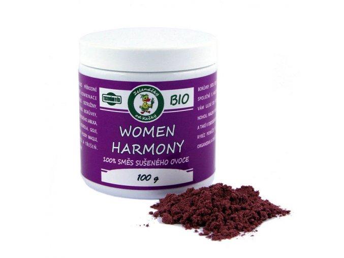 women harmony BIO šťáva - Zelenáčky