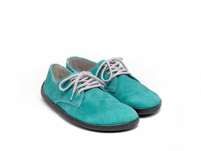 Barefootová módní obuv Be Lenka City - Tyrkys   Zelenáčky