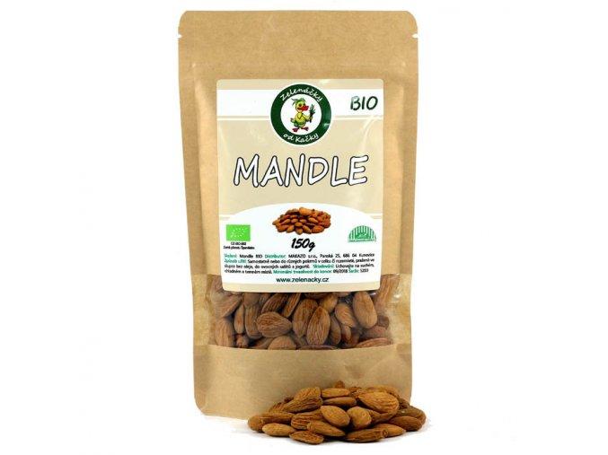 Mandle BIO - Zelenáčky