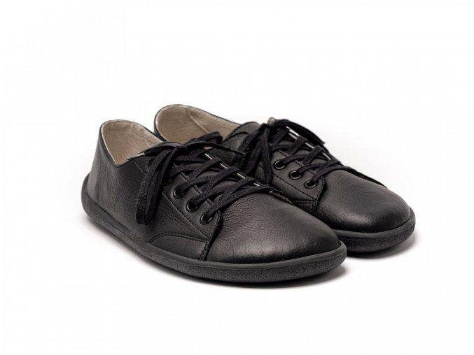 Celokožené barefoot tenisky Be Lenka Prime - Black | Zelenáčky