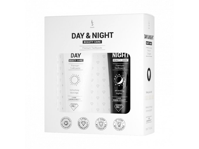 Sada zubní pasty DuoLife Day & Night Beauty Care