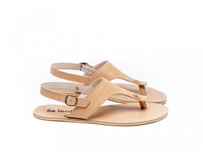 Stylové barefoot sandály Be Lenka Promenade - Sand | Zelenáčky