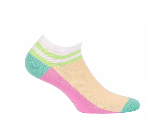 Dětské kotníkové ponožky Wola Proužek