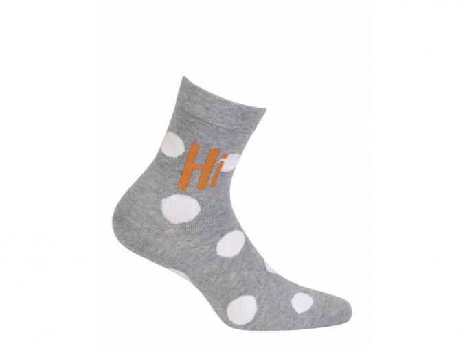 Dětské ponožky Wola Hi Puntíky