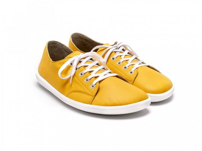 Barefoot tenisky Be Lenka Prime - Mustard | Zelenáčky