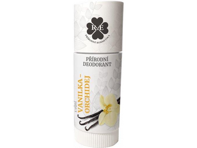 Přírodní deodorant BIO bambucké máslo s vůní vanilky a orchideje 25 ml | Zelenáčky