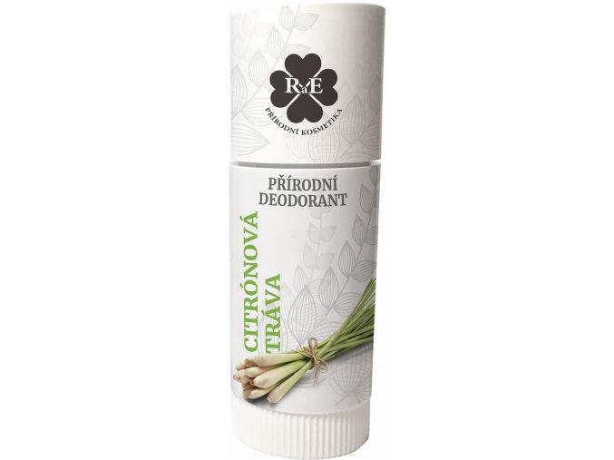 Přírodní deodorant BIO bambucké máslo s vůní citrónové trávy 25 ml   Zelenáčky