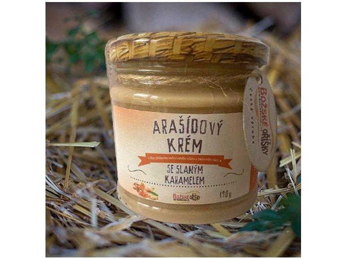 Arašídový krém se slaným karamelem 190g | Zelenáčky