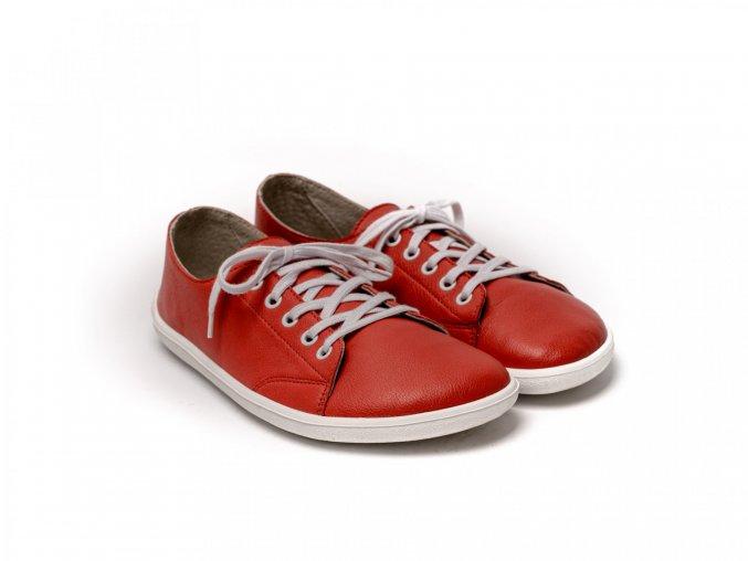 Barefoot tenisky Be Lenka Prime - Red | Zelenáčky