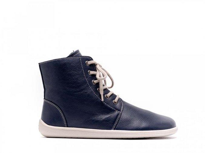Barefoot kotníkové boty Be Lenka Nord – Navy | Zelenáčky
