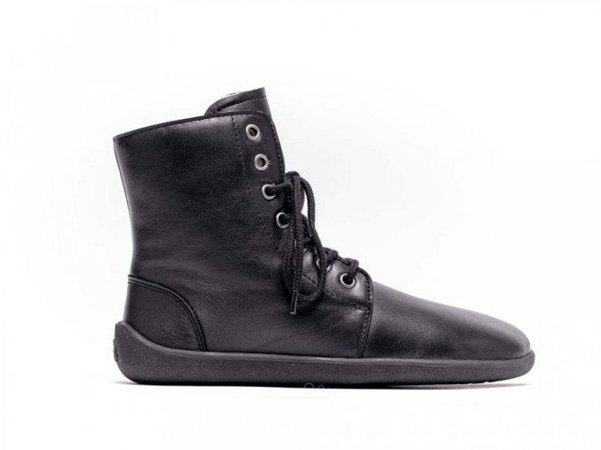 Barefoot kotníkové boty Be Lenka Winter – Black | Zelenáčky