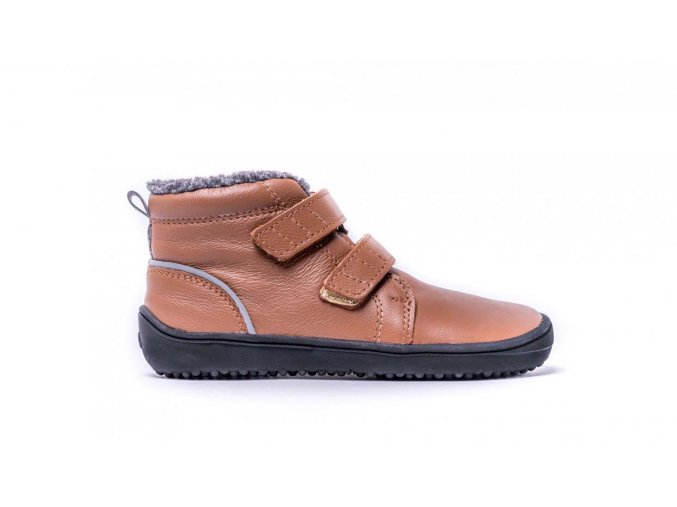 Dětské zimní barefoot boty Be Lenka Penguin - Chocolate | Zelenáčky