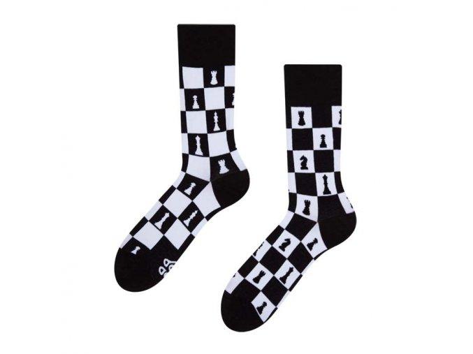 Veselé ponožky Šachy | Zelenáčky