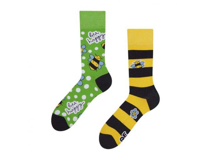 Veselé ponožky Včely | Zelenáčky