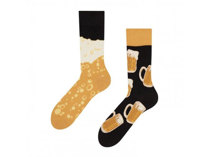 Veselé ponožky Čepované pivo | Zelenáčky