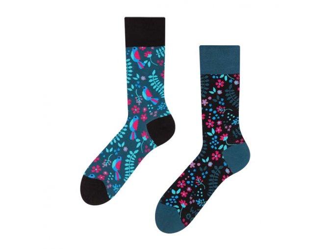 Veselé ponožky Tajná zahrada | Zelenáčky