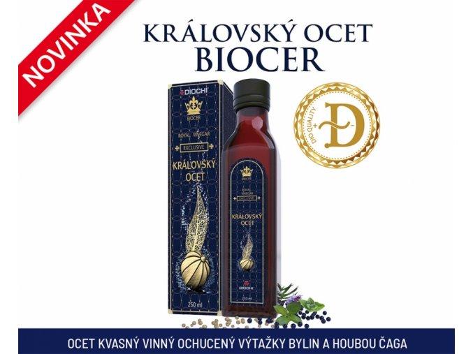 Královský ocet Biocer