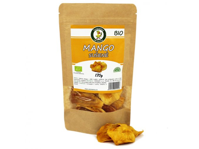 Sušené mango BIO - Zelenáčky