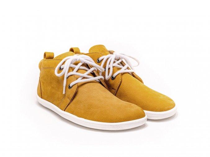 Barefoot Be Lenka Icon celoroční - Mustard & White | Zelenáčky
