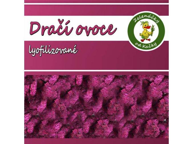 Dračí ovoce lyofilizované | Zelenáčky