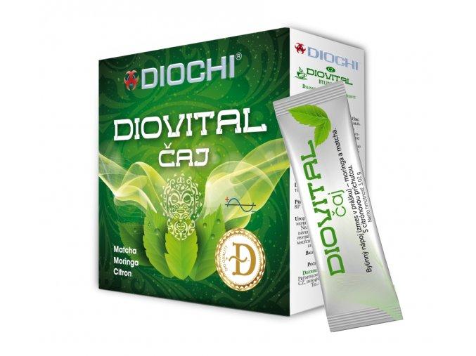 Diovital bylinný čaj v prášku | Zelenáčky