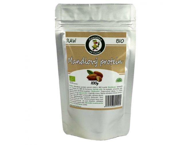 Mandlový protein 50% bílkovin - Zelenáčky