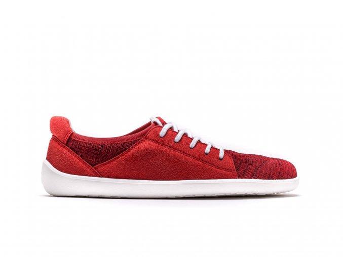 Barefoot tenisky Be Lenka Ace - Red   Zelenáčky