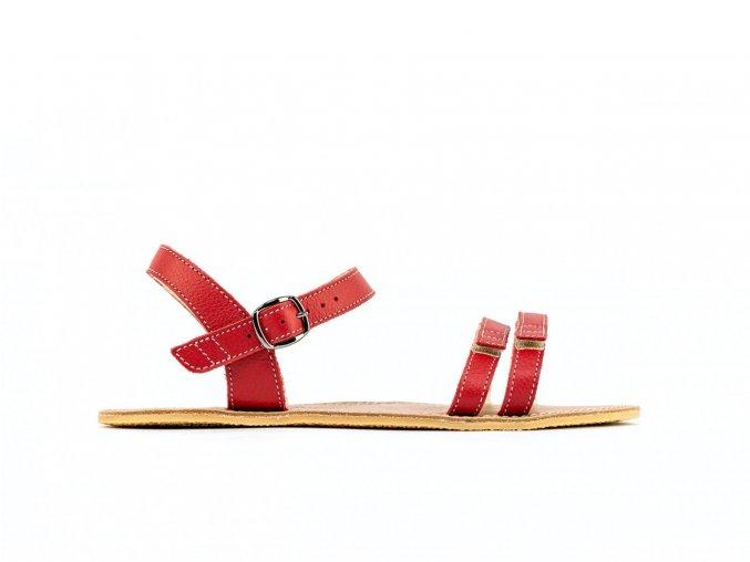 Barefoot sandály Be Lenka Summer - Red   Zelenáčky