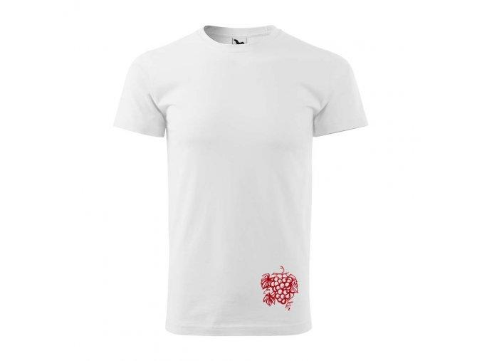 Pánské tričko s výšivkou hrozen