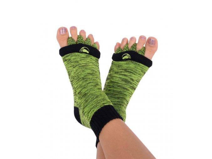 Adjustační ponožky Happy Feet zelené | Zelenáčky