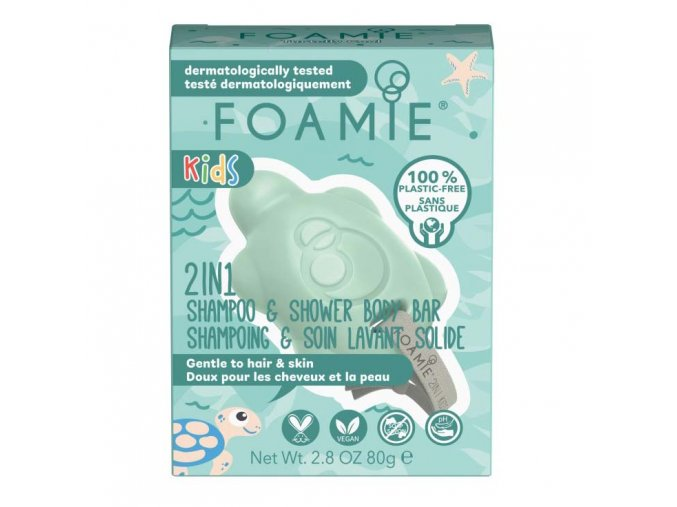 Foamie 2in1 Body Bar For Kids Mango & Coconut   Zelenáčky