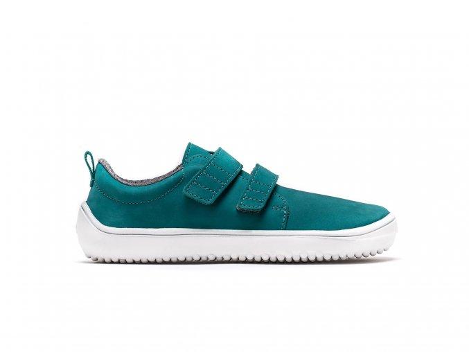 Dětské barefoot boty Be Lenka Jolly - Aqua Green | Zelenáčky