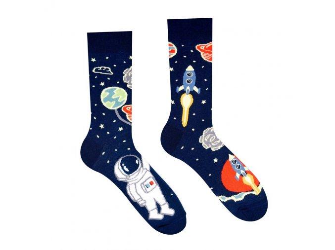 Veselé ponožky Astronaut | Zelenáčky