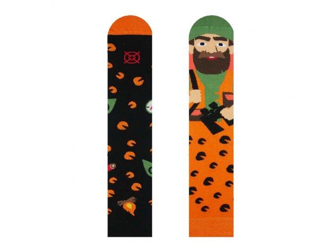 Veselé ponožky Lovec | Zelenáčky