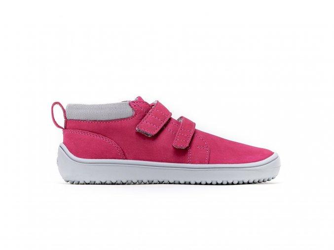 Dětské barefoot boty Be Lenka Play - Dark pink   Zelenáčky